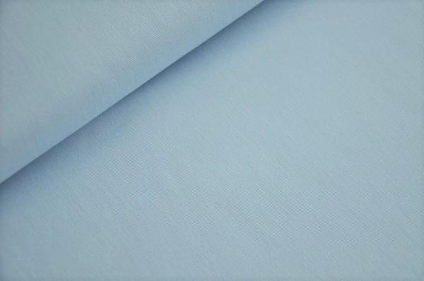 Hilco Easy Cotton - uni, hellblau - 100% Baumwolle, WEbware, Baumwollstoffe online kaufen, Meterware