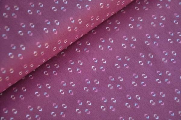 Webware - Art Gallery Fabrics - Dollhouse - Lucy Mauve - Baumwolle - Patchworkstoffe