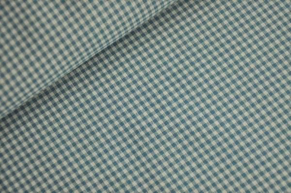 Webware - Vichykaro, blau/weiß