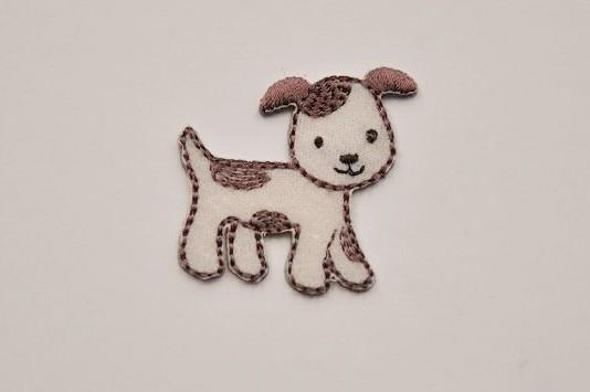 MD Bügelmotiv kleiner Hund
