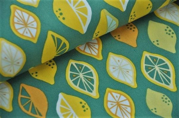 Bio Canvas - Juicy, Lemon Lime - 100% Baumwolle