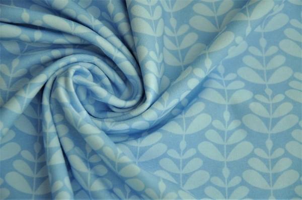 Bio Jersey - Charlotta, blau