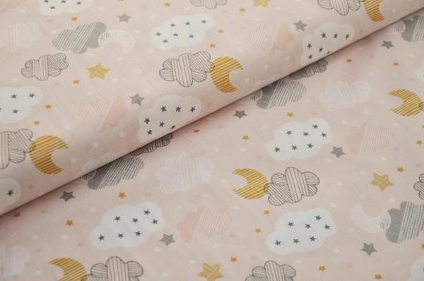 blend fabrics - Sweet Dreams, Starry Night - 100% Baumwolle, Sterne