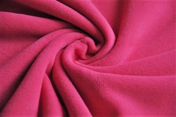 Hilco Sport-Fleece - pink, 100% Polyester, Meterware online kaufen, Winterstoffe