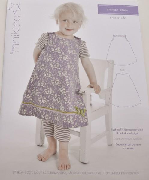 Schnittmuster minikrea - Trägerkleid