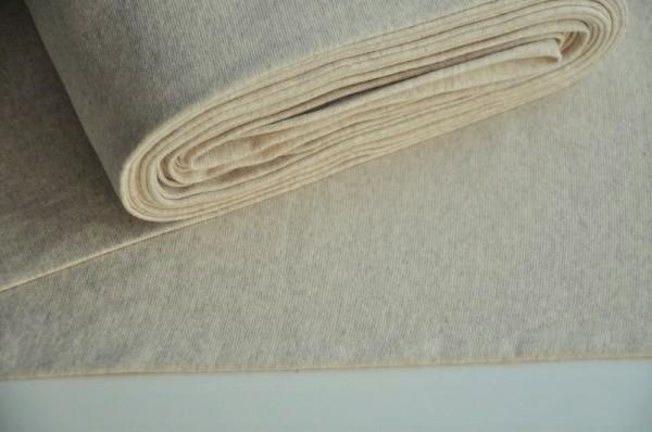 Bündchen - uni, natur-melange - 95% Baumwolle, 5% Elasthan