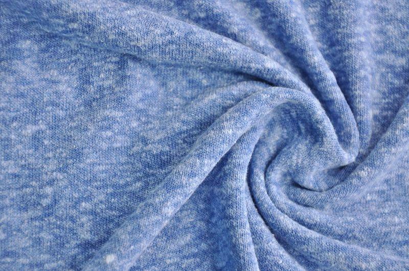 Nicita Strickstoff blau melange Hilco 50 cm