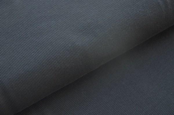 Hilco Bündchenstrick schwarz