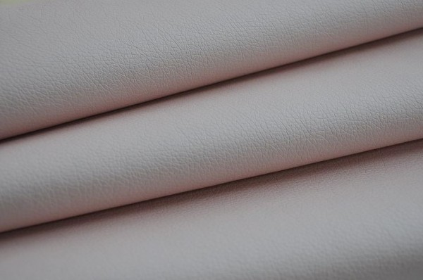 Weiches Kunstleder - puderrosa brillant