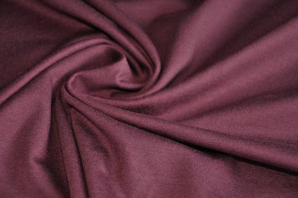 Tencel Stretch Jersey - uni, maroon, brodeaux, nachhaltige Stoffe, meetMilk