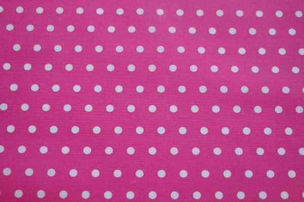 Leona beschichtet - Punkte pink