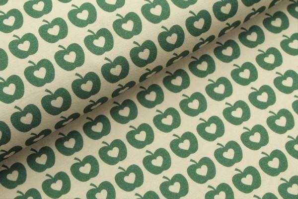 Bio Jersey - Apple Liefde, grün