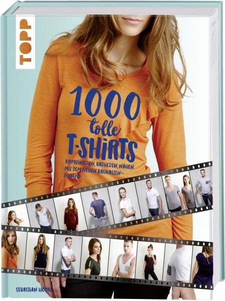 Buch - 1000 tolle Shirts nähen